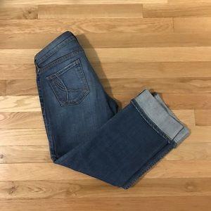 ❗️SOLD ❗️!IT Jeans; The BEST Capri denim w/ cuff